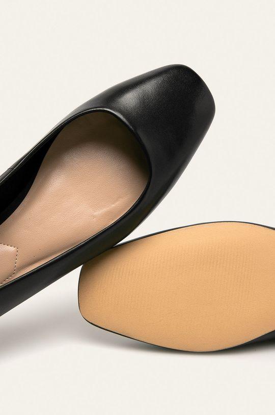 černá Aldo - Kožené baleríny Bridgette