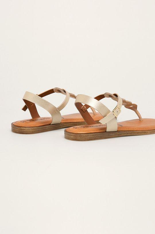 Tamaris - Sandale de piele  Gamba: Piele naturala Interiorul: Piele naturala Talpa: Material sintetic