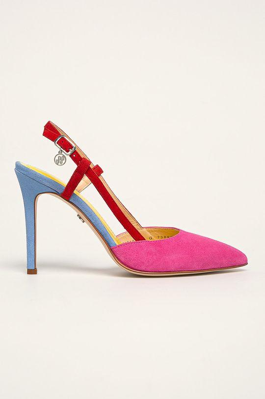 multicolor Solo Femme - Stilettos de piele De femei