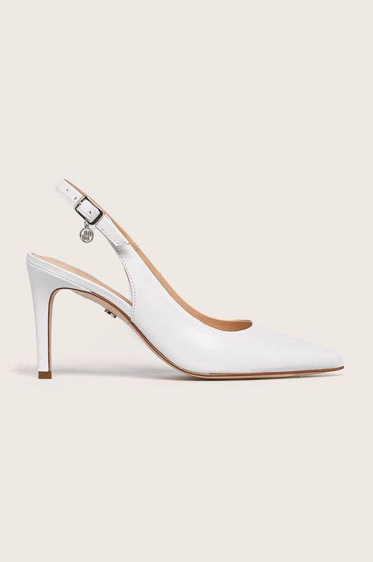 бял Solo Femme - Кожени стилети Жіночий