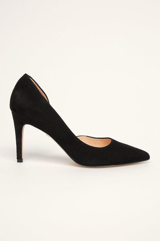 чорний Solo Femme - Шкіряні туфлі Жіночий