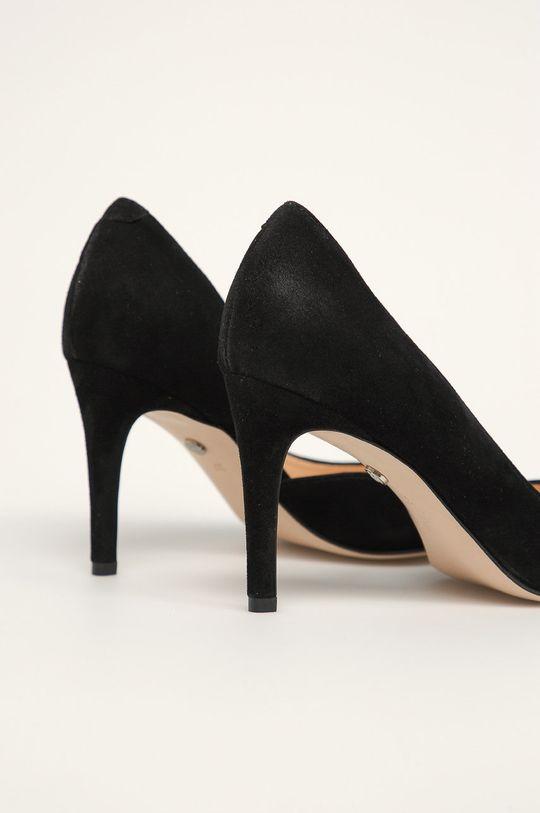 чорний Solo Femme - Шкіряні туфлі