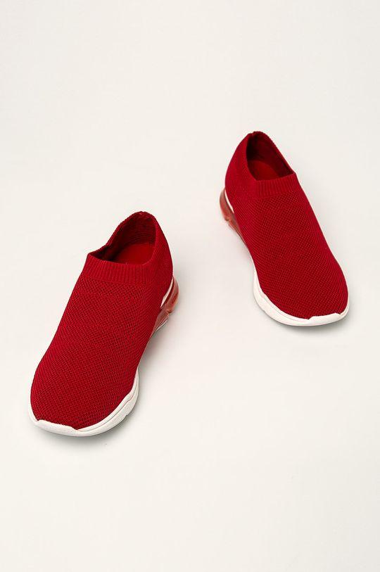 Dkny - Buty czerwony