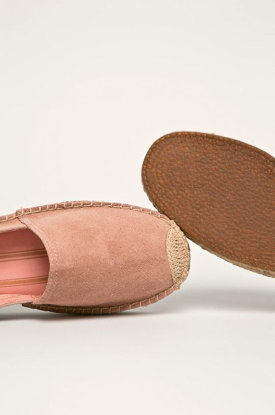 Pepe Jeans - Espadrile de piele Liss Plein Gamba: Piele intoarsa Interiorul: Material textil Talpa: Material sintetic