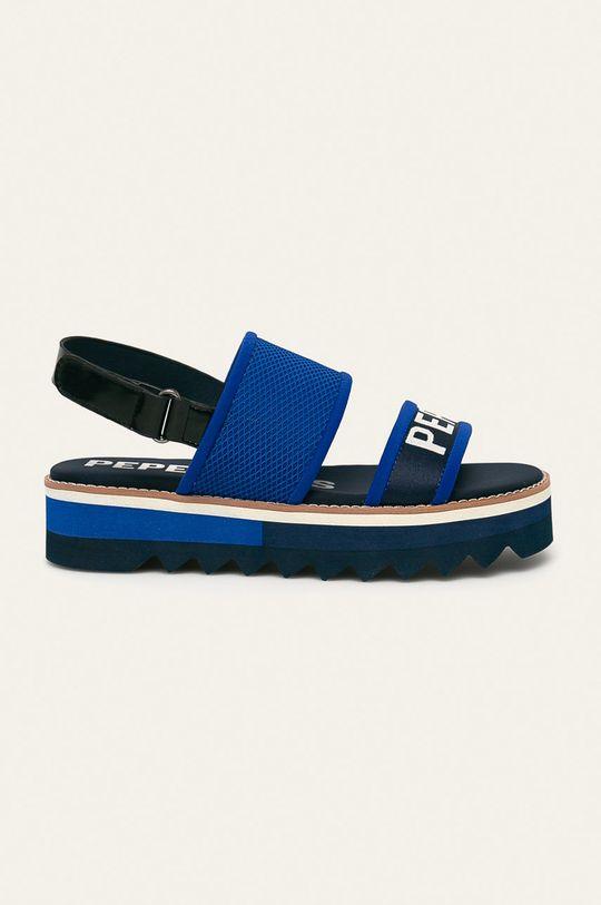 tmavomodrá Pepe Jeans - Sandále Ella Nari Dámsky
