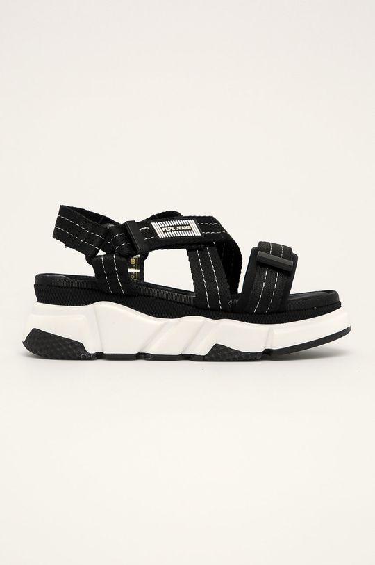 negru Pepe Jeans - Sandale Falmer Cross De femei