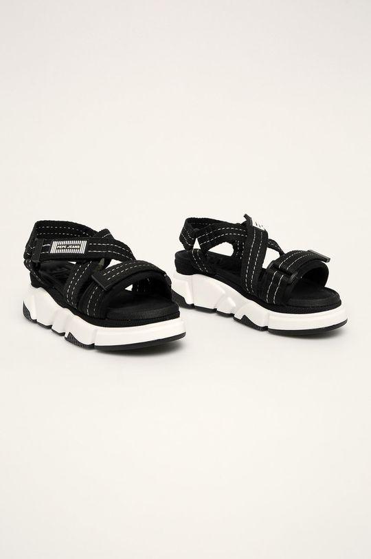 Pepe Jeans - Sandale Falmer Cross negru