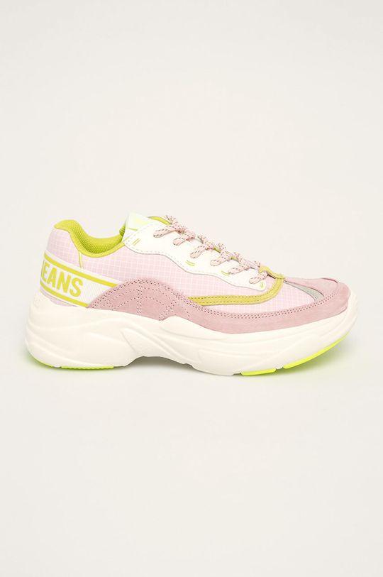 roz rosu Pepe Jeans - Pantofi Sinyu Bass De femei