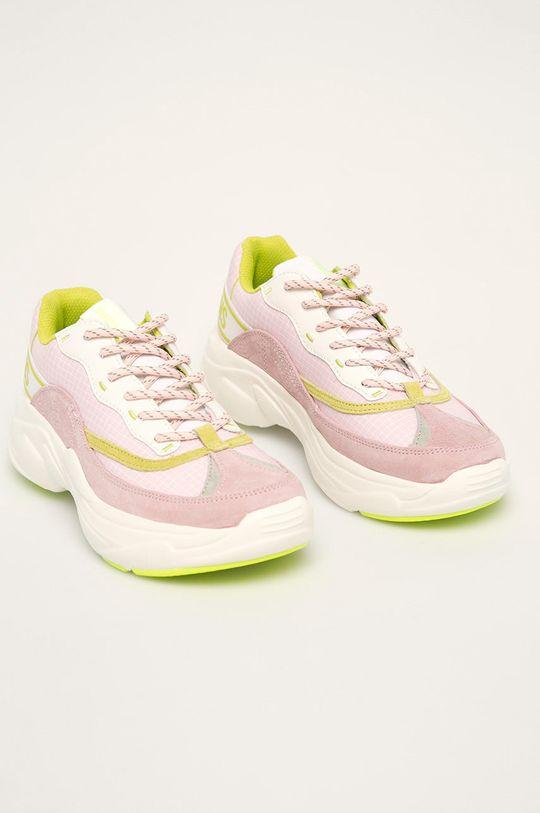 Pepe Jeans - Pantofi Sinyu Bass roz rosu