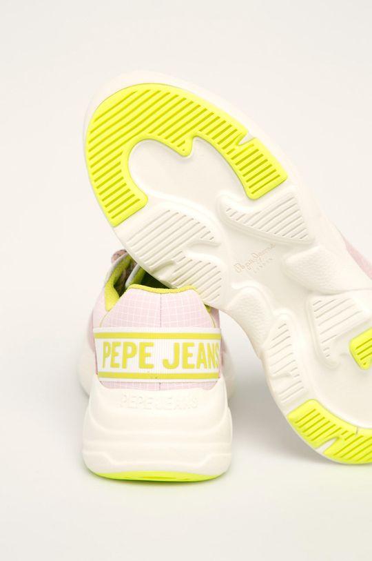 Pepe Jeans - Pantofi Sinyu Bass Gamba: Piele intoarsa, Material textil, Material sintetic Interiorul: Material textil Talpa: Material sintetic