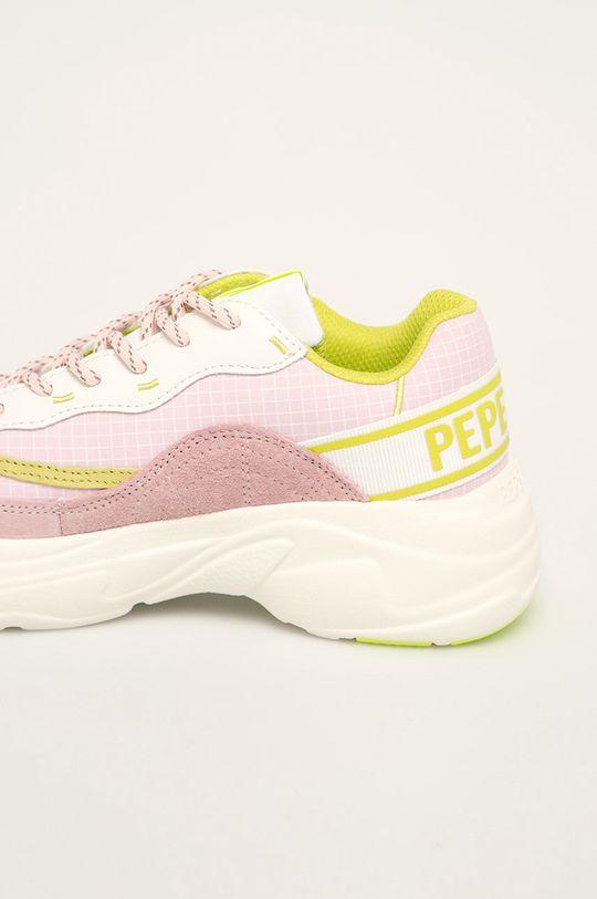 roz rosu Pepe Jeans - Pantofi Sinyu Bass