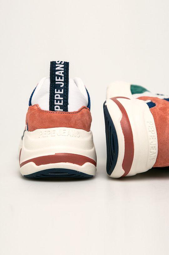 Pepe Jeans - Pantofi Sinyu Mood Gamba: Material textil, Piele intoarsa Interiorul: Material textil Talpa: Material sintetic
