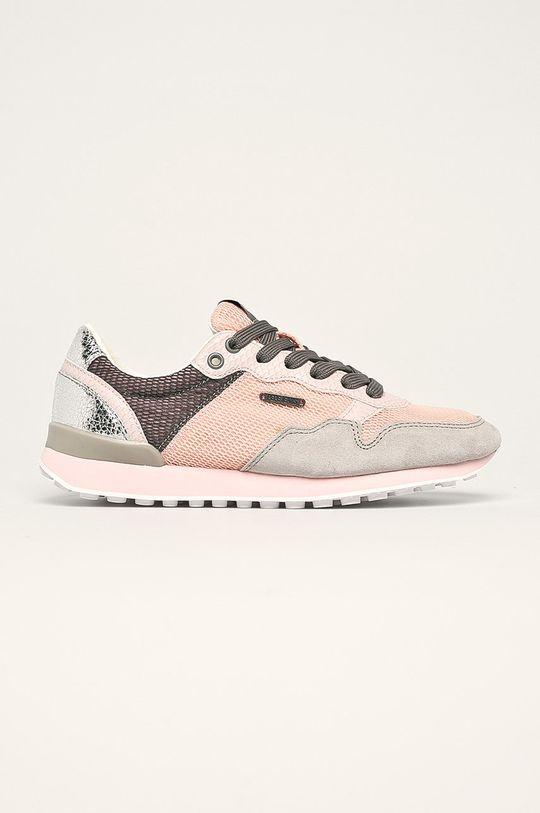 roz rosu Pepe Jeans - Pantofi Bimba Mesh De femei