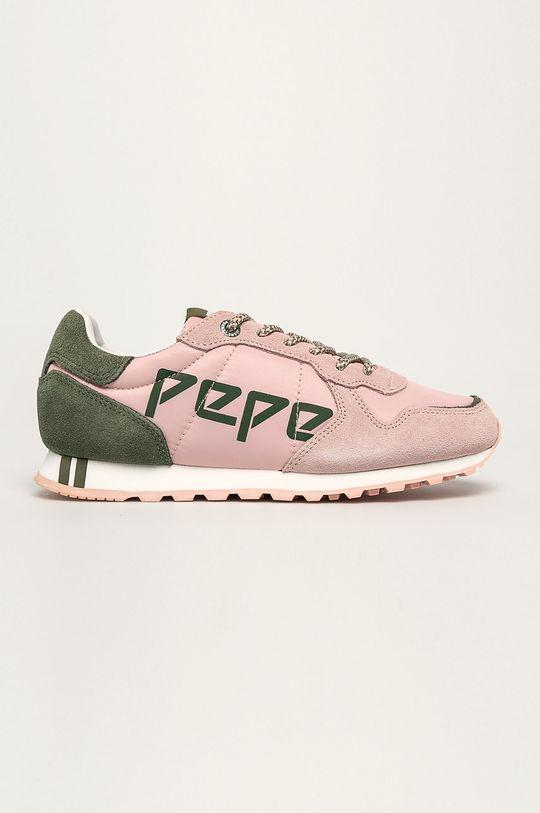 staroružová Pepe Jeans - Topánky Verona Dámsky