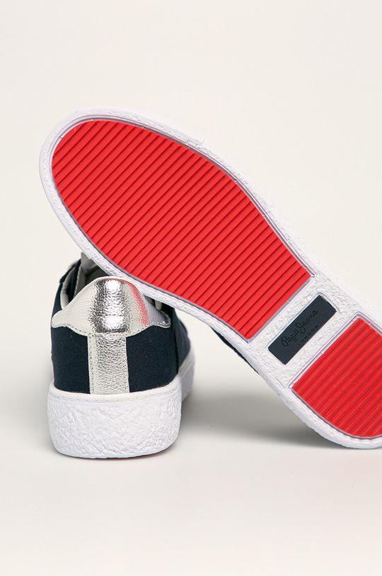 Pepe Jeans - Boty Roxy Summer20 Svršek: Umělá hmota, Textilní materiál Vnitřek: Textilní materiál Podrážka: Umělá hmota