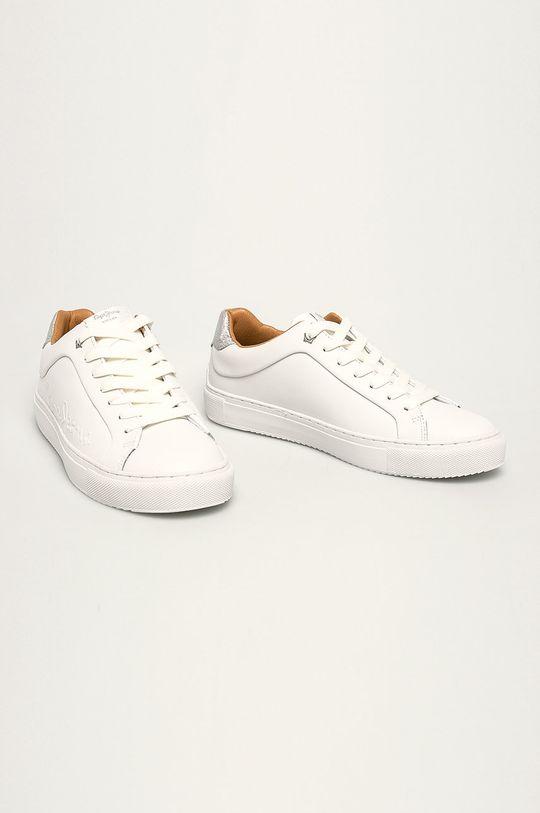 Pepe Jeans - Pantofi Adams Logo alb