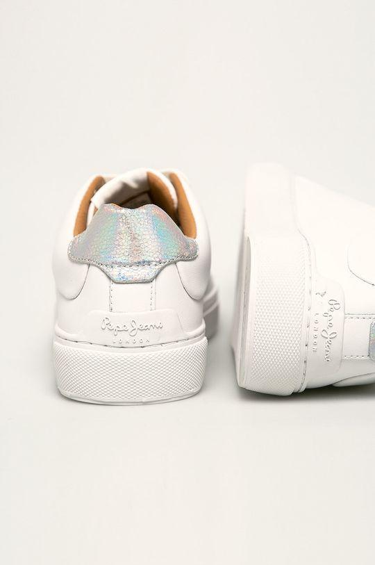Pepe Jeans - Pantofi Adams Logo Gamba: Material sintetic, Piele naturala Interiorul: Material sintetic, Material textil Talpa: Material sintetic