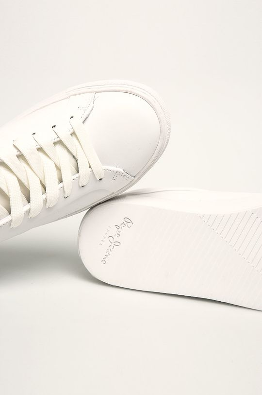 alb Pepe Jeans - Pantofi Adams Logo