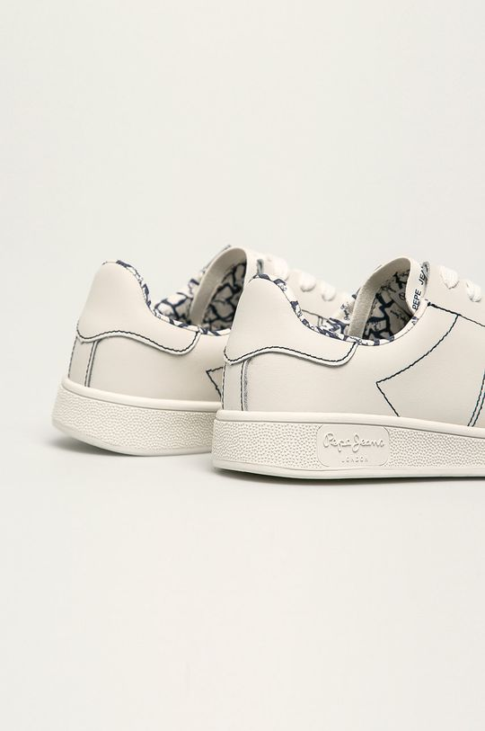 Pepe Jeans - Шкіряні черевики Brompton Stitching  Халяви: Натуральна шкіра Внутрішня частина: Синтетичний матеріал, Текстильний матеріал Підошва: Синтетичний матеріал