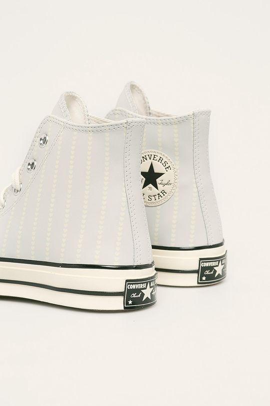 svetlosivá Converse - Kožené tenisky