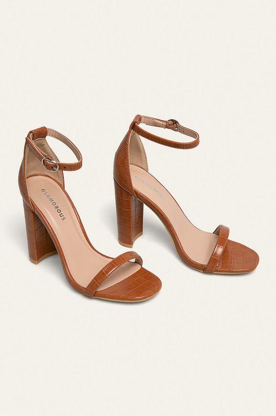 Glamorous - Sandale maro