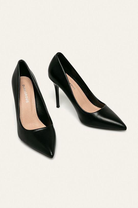 Glamorous - Lodičky čierna