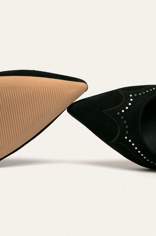 černá AllSaints - Kožené lodičky Zehra