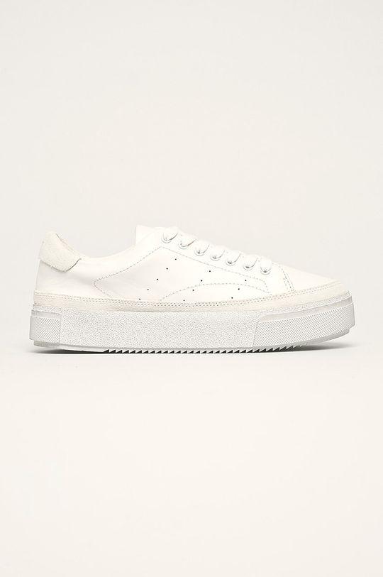 білий AllSaints - Шкіряні черевики Trish Жіночий