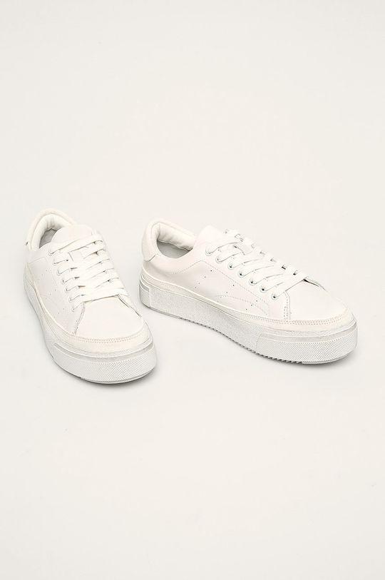 AllSaints - Шкіряні черевики Trish білий