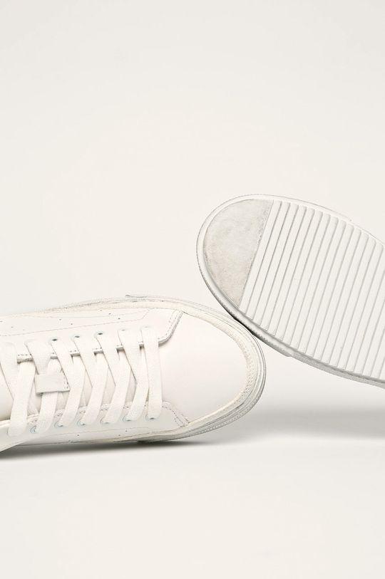 білий AllSaints - Шкіряні черевики Trish