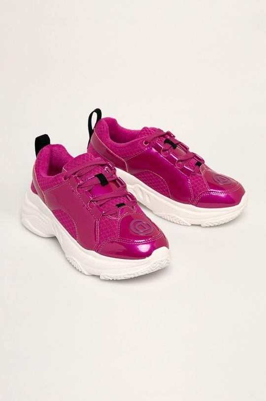 Desigual Sport - Topánky 20SUKP04 sýto ružová