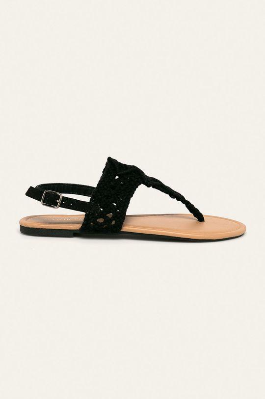 čierna Haily's - Sandále Dámsky
