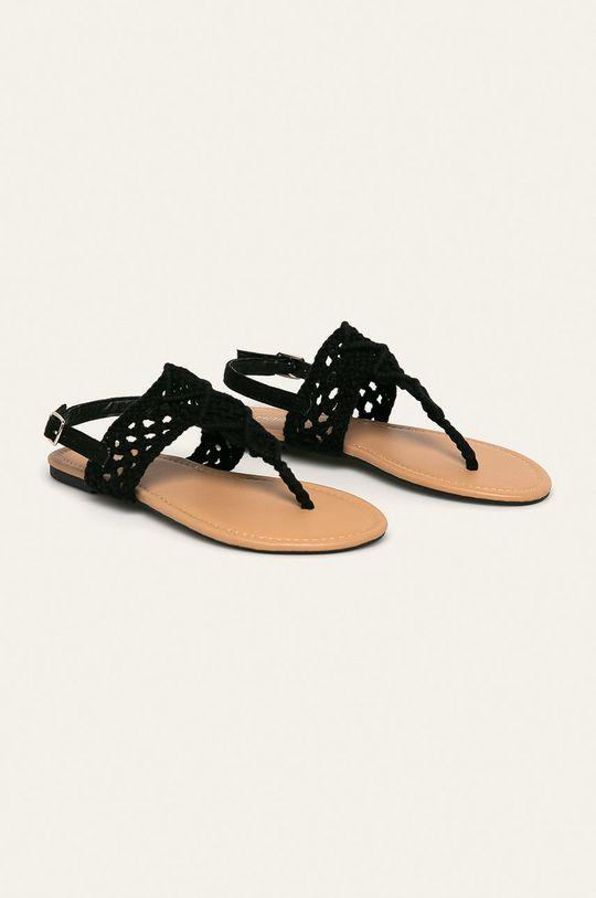 Haily's - Sandále čierna
