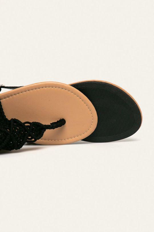 čierna Haily's - Sandále