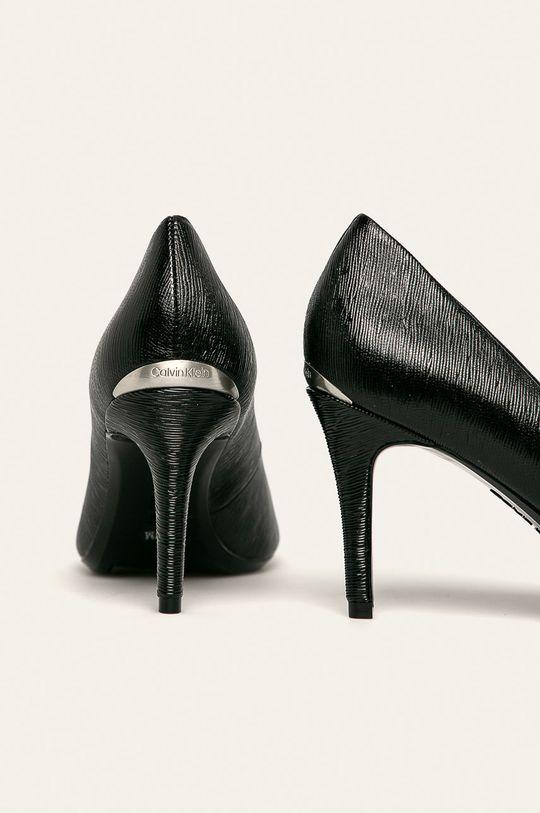 Calvin Klein - Kožené lodičky Svršek: Přírodní kůže Podrážka: Umělá hmota Vložka: Přírodní kůže