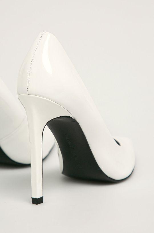 bílá Calvin Klein - Kožené lodičky