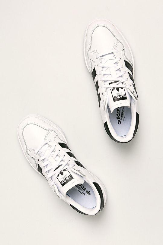 adidas Originals - Boty Team Court Ftwwht Dámský