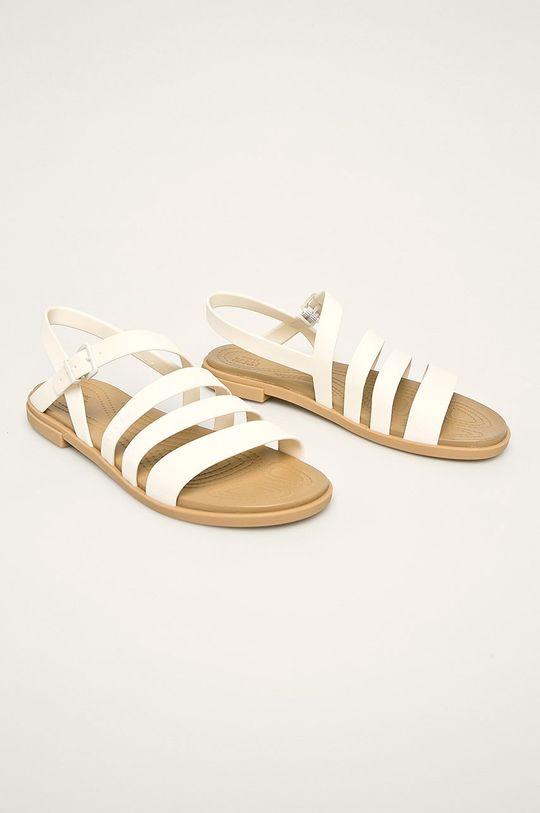 Crocs - Sandały biały
