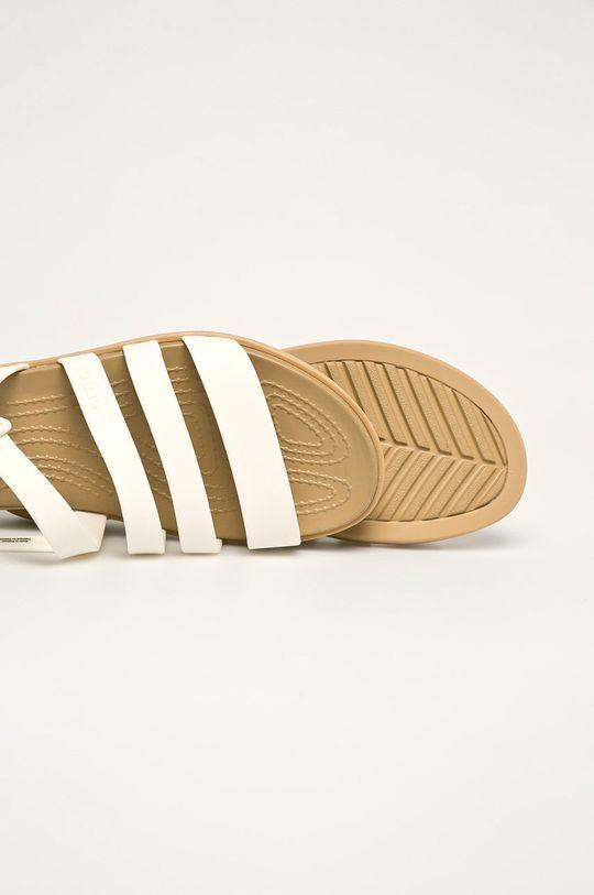 biały Crocs - Sandały