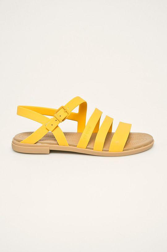 żółty Crocs - Sandały Damski