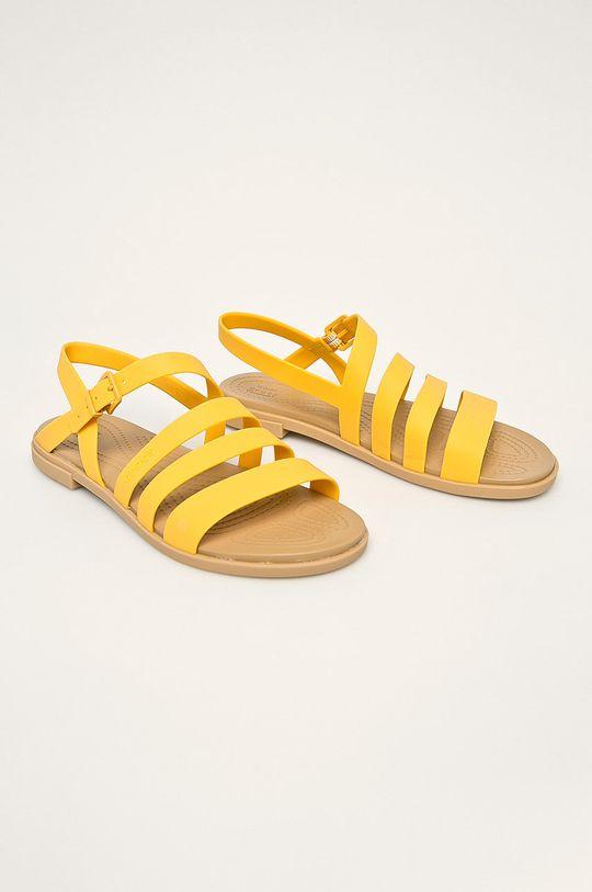 Crocs - Sandały żółty