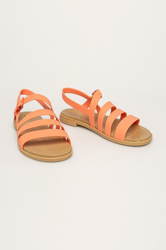 Crocs - Sandały pomarańczowy