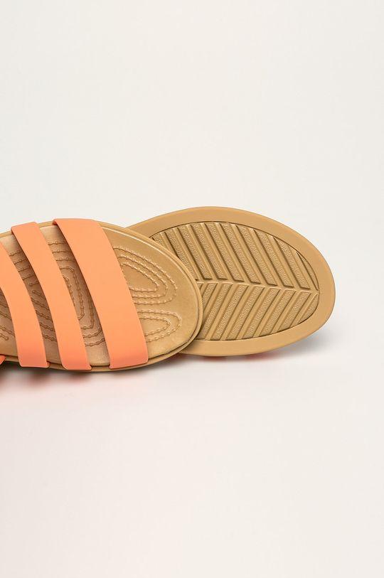 pomarańczowy Crocs - Sandały