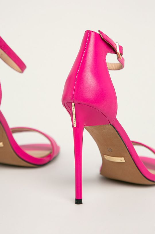 ružová Marciano Guess - Kožené sandále