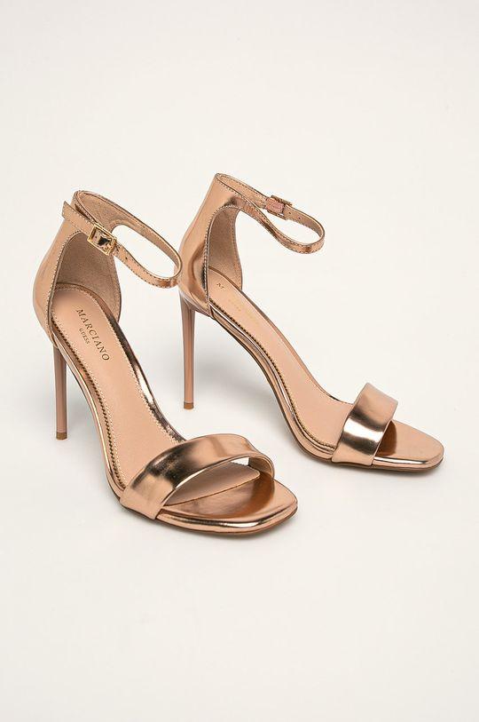 Marciano Guess - Kožené sandále zlatá