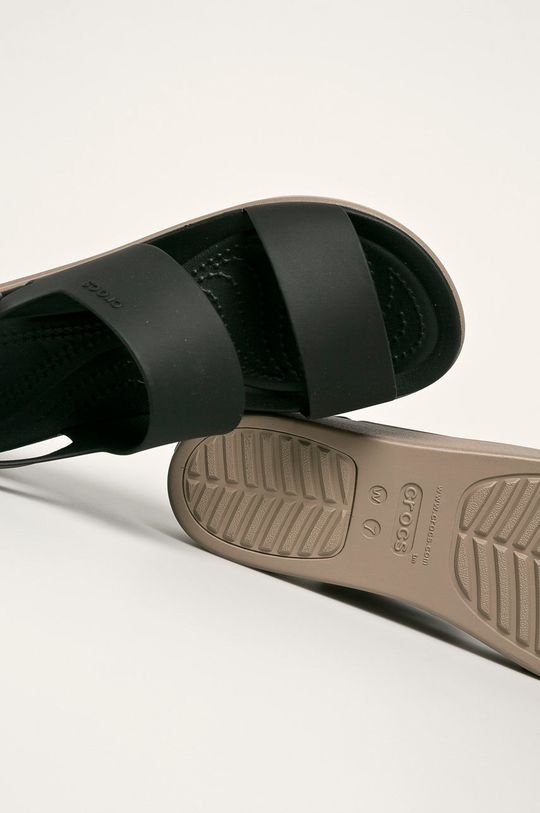 czarny Crocs - Sandały