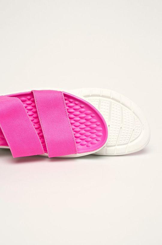 ostry różowy Crocs - Sandały