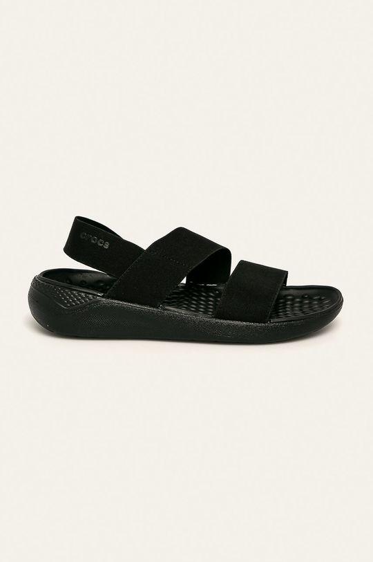 czarny Crocs - Sandały Damski