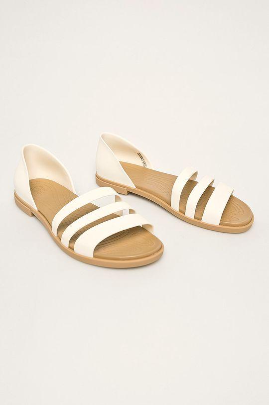 Crocs - Sandále biela