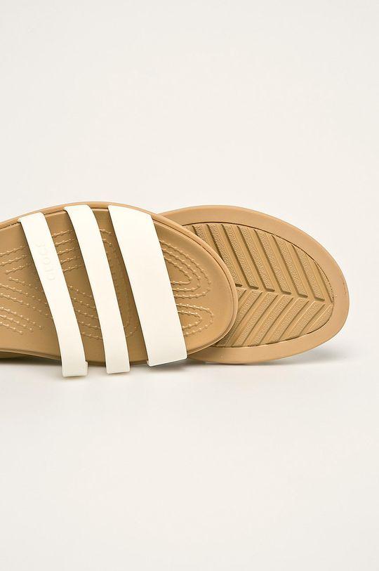 biela Crocs - Sandále